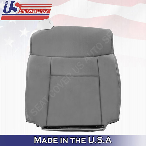2004-2008 Ford F-150 Passenger Top Cloth Seat Cover in Gray