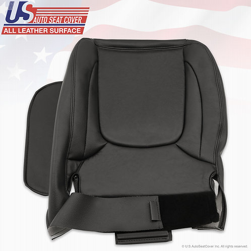 2003-2005 Dodge Ram 1500 Driver Bottom Leather seat cover in Black