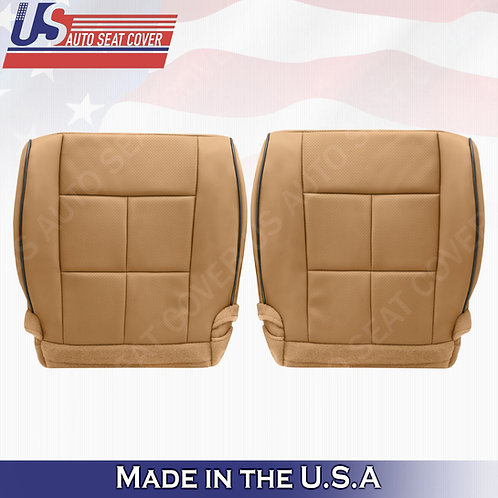 2011-2014 Lincoln Navigator Driver  Passenger Bottom Synthetic Leather Cover Tan