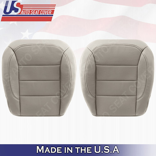 For 2012-2015 Mercedes Benz ML250 Front Bottoms Perforated Leather Cover Gray