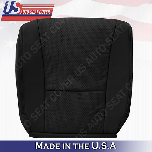 Fits 2007-2012 Lexus LS460 Driver Bottom Perforated Leather Cover Black