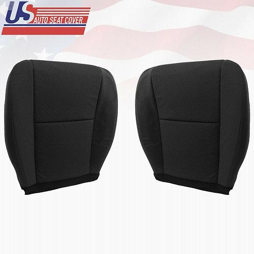 2010 - 2014 Chevy Silverado Driver Passenger Bottom Cloth Seat Cover B