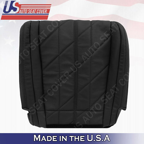 For 2009-2013 Infinity FX37 FX35 Driver Bottom Perf. Leather Seat Cover Black