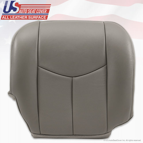 2003 to 2006 Cadillac Escalade Passenger Bottom Perforated Pewter Gray