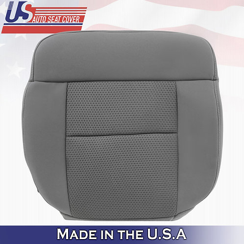 2004-2006 Ford F150 FX2 Passenger Bottom Cloth Seat Cover in Gray