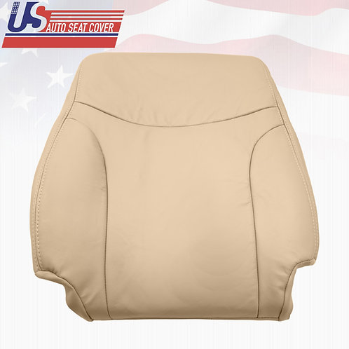 For 2002 - 2006 Lexus ES300 ES330 Driver Lean Back Tan Leather Seat Cover