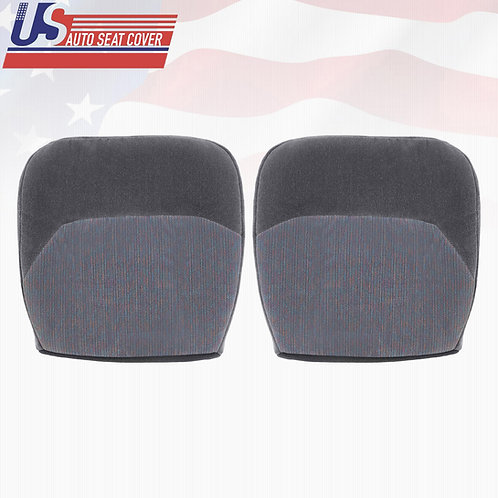 1994 1995 1996 1997 Ford F150 F250 XLT Bottoms Cloth Seat Cover Opal Gray