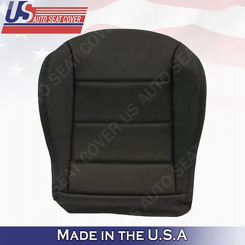 1999 to 2004 Volkswagen Jetta Passenger Bottom Leather seat cover Black
