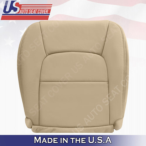 Passenger Bottom Leather Seat Cover in Tan fits 1992-2001 Lexus SC300