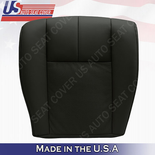2005-2011 Cadillac STS Driver Bottoms Perforated Seat Cover Black