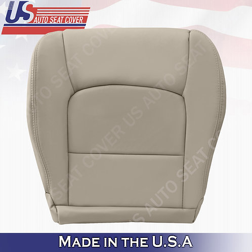 Fits 1999 to 2007 Lexus LX470 Driver Bottom Leather Seat Cover in Tan