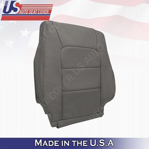 For 1998-2007 Lexus Lx470 Passenger Top Leather Seat Cover Gray