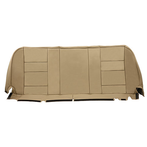 2002 -2007 Ford F250 Super duty Lariat Rear Bottom Leather Bench Seat Cover TAN