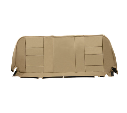 2002 2007 Ford F250 Super Duty Lariat Rear Bottom Leather Bench Seat Cover Tan Usautoseatcover