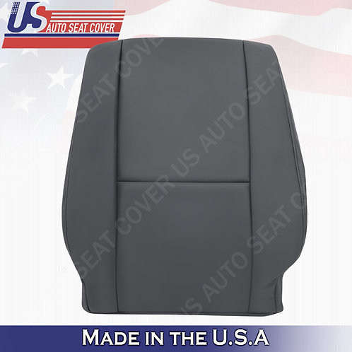 2005 2006 Toyota sequoia Driver Top leather in dark charcoal seat cover