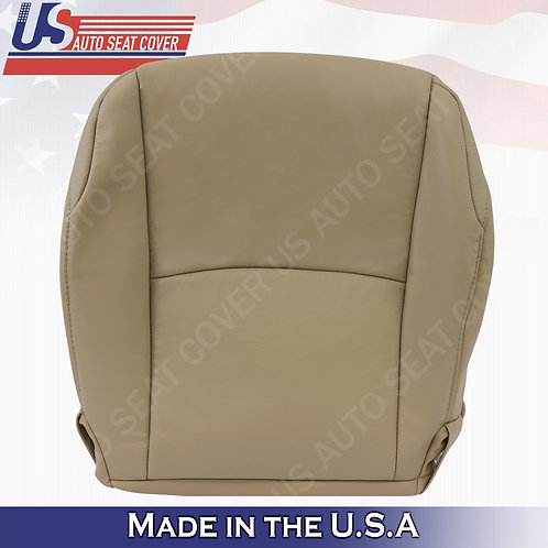 For 2010-2014 Toyota 4Runner Driver Bottom seat Cover leather in Tan