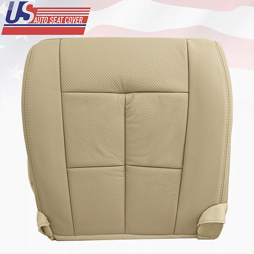 2007 - 2014 Lincoln Navigator Passenger Bottom Perforated Seat Cover Tan