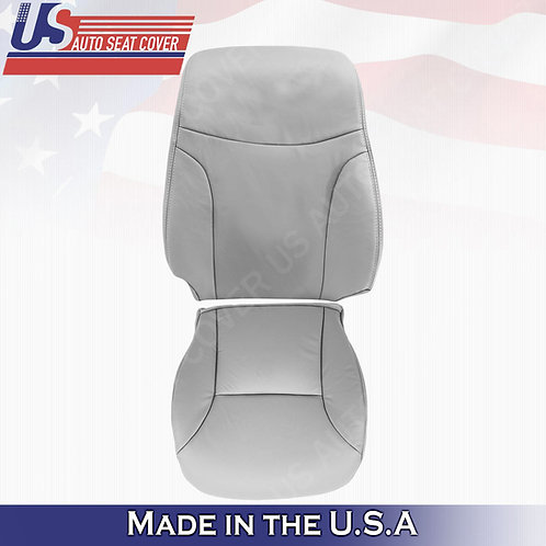For 2002 to 2006 Lexus ES300 ES350 Passenger Top & Bottom Leather Cover Gray