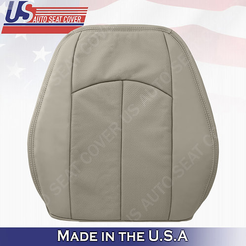 For 2003-2009 Mercedes-Benz E350 Top Perforated Leather Seat Cover Ash Gray