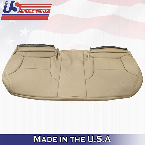 Rear Bench Bottom Perforated Leather Cover For 2002 To 2006 Lexus ES300 ES330