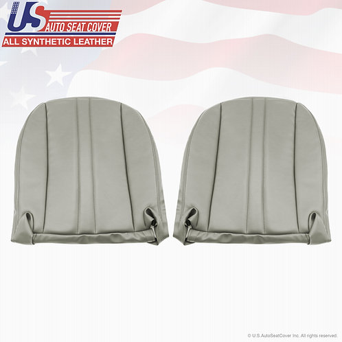 2007 2008 2012 Chevy Express Cargo Van Driver Side Bottom Vinyl Seat Cover Gray