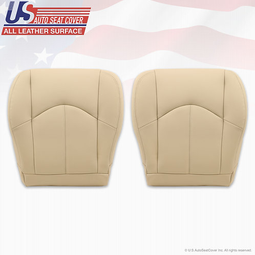 1999 to 2003 Lexus RX300 Driver passenger Bottom leather seat cover Ivory Tan