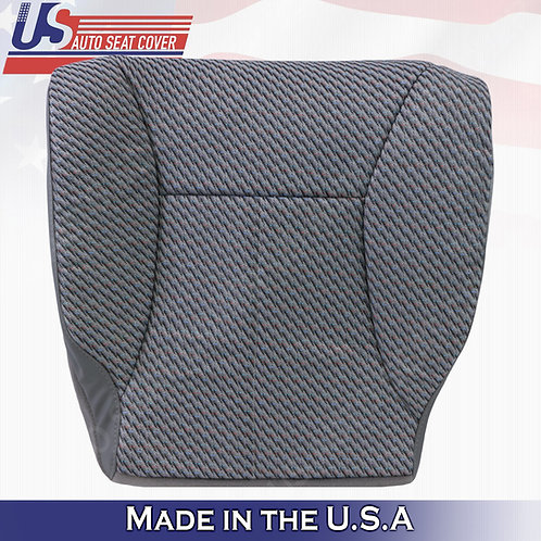 1998-2002 Dodge Ram Work Truck Driver Bottom Cloth Seat Cover Mist Gray
