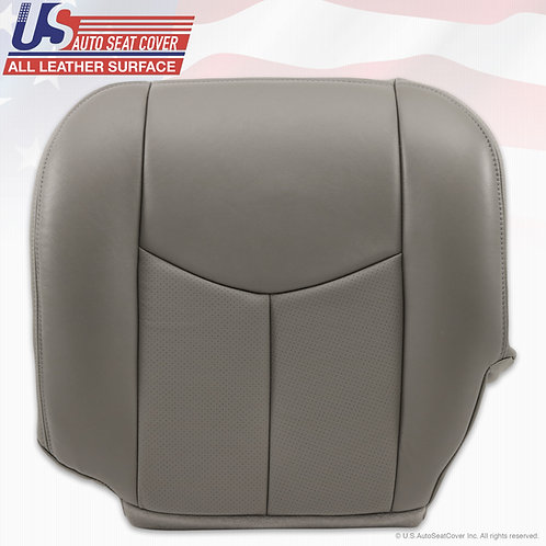 2003 to 2006 Cadillac Escalade Driver Bottom Perforated Pewter Gray