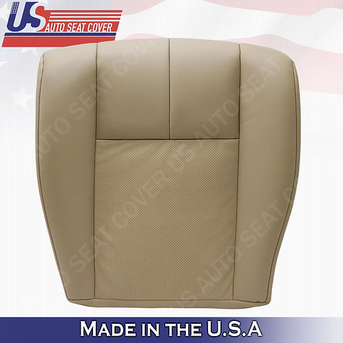 2005-2011 Cadillac STS Passenger Bottom Perforated Seat Cover Tan