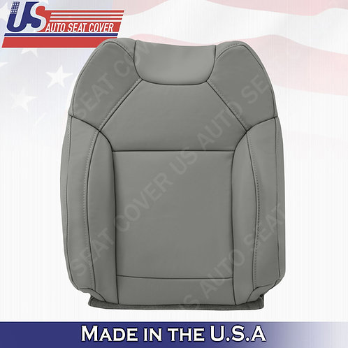For 2014 to 2020 Acura MDX Driver Top  Leather Seat Cover Gray