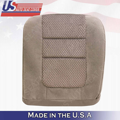 2001 Ford F-250 XLT Crew-Cab Driver Bottom Cloth Seat Cover Tan