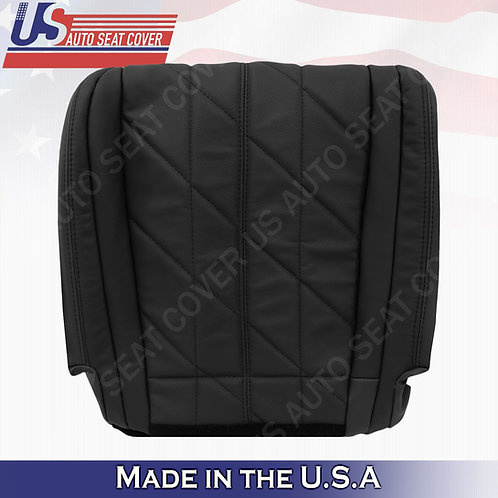 For 2009-2013 Infinity FX37 FX35 Passenger Bottom Perf. Leather Seat Cover Black