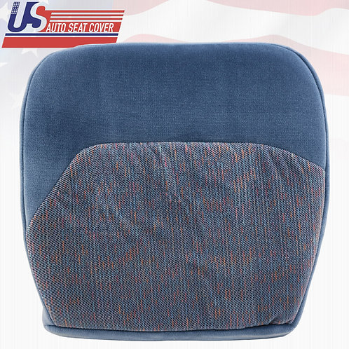 1994-1997 Ford F150 XLT Driver Bottom Cloth Replacement Seat Cover In Blue