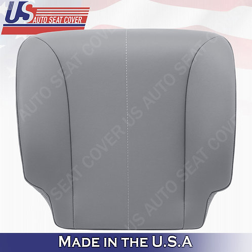 2002-2007 International Air Ride Driver Bottom seat cover Vinyl in Gray