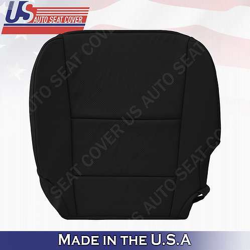 Fits Acura RDX 2013-2018 Driver Bottom Perforated Leather cover Black