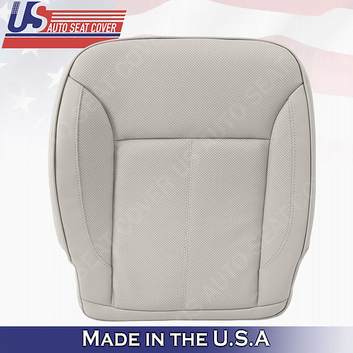 For 2007-2012 Mercedes Benz GL450 Driver Bottom Perforated Leather Cover Gray