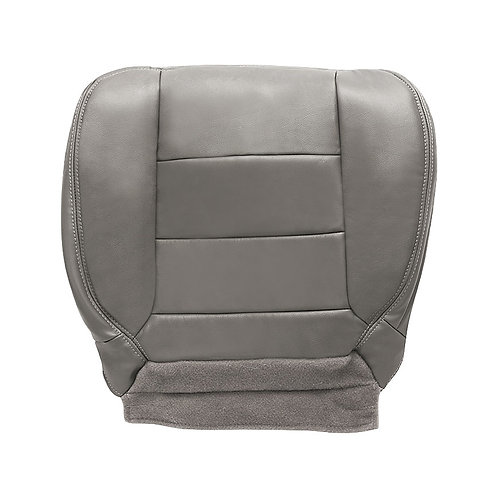 2002-2007 Ford F250 F350 Lariat EXTENDED CAB Driver Bottom Leather Seat Cover