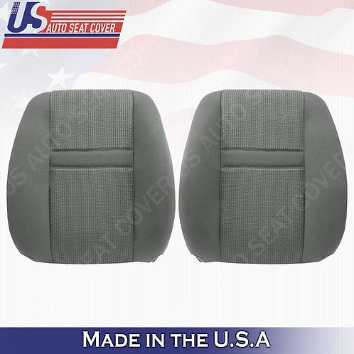 2006-2009 Dodge Ram 2500 3500 4500 5500 Driver & Passenger Top Cloth Cover Gray