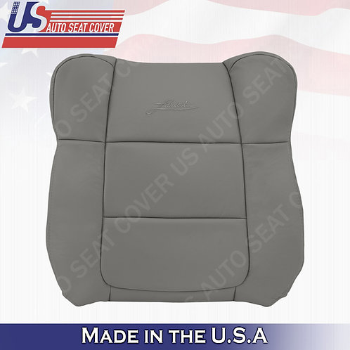 2001-2003 Ford F150 Lariat DRIVER Top leather Cover Gray