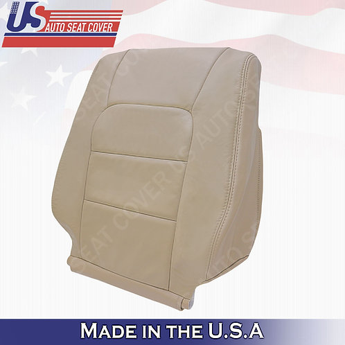 For 1998-2007 Lexus Lx470 Passenger Top Leather Seat Cover Tan