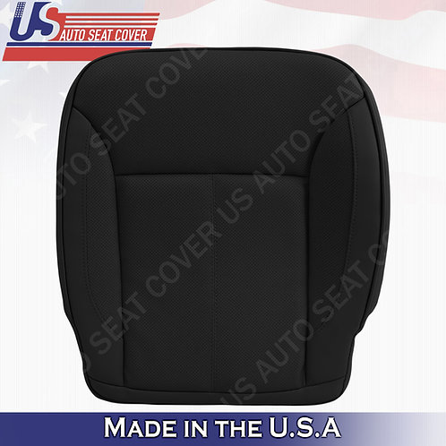 For 2007-2012 Mercedes Benz GL450 Pasenger Bottom Perforated Leather Cover Black