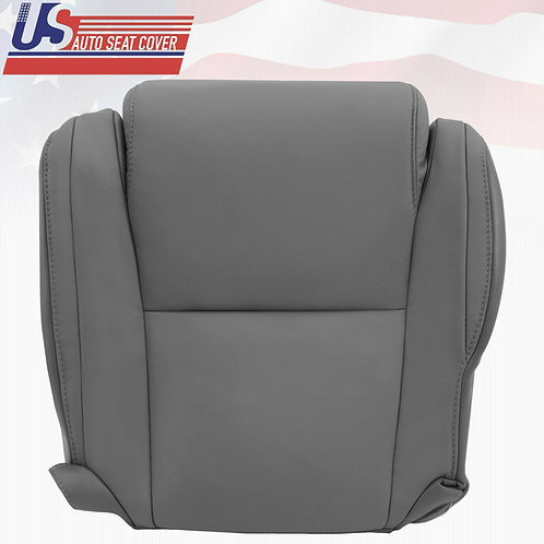 For 2007-2013 Toyota Tundra Driver Bottom Gray Leather  Seat Cover  w Extra seam