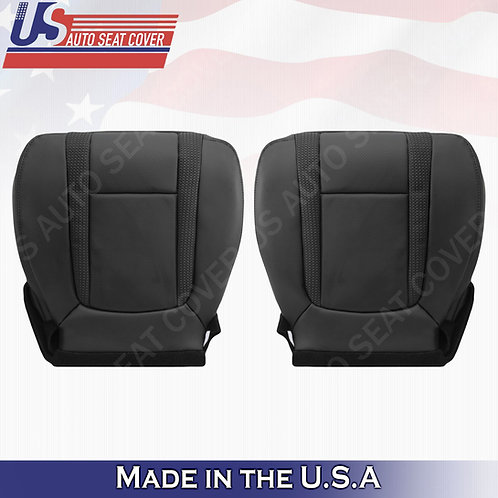 2010-2014 Ford F150 Raptor Driver Passenger Bottom Perforated Leather Seat Cove