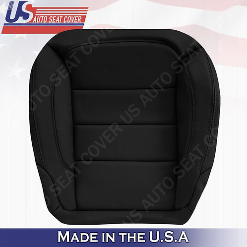 Fits 2012-2015 Mercedes ML250 ML350 Driver Bottom Leather Seat Cover Black