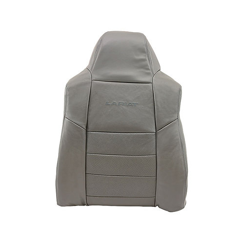 2002 2003 2004 2005 2006 2007 Ford F250 F350 Backrest Cover Perforated Gray