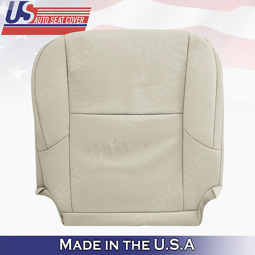 Passenger Bottom Perforated Leather seat cover TAN for 2010-2017 Lexus GX460