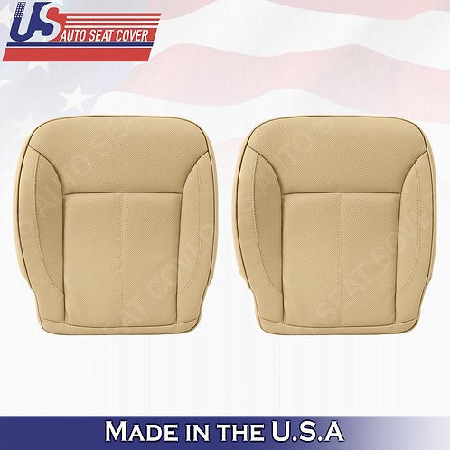 For 2007-2012 Mercedes Benz GL450 BOTTOMS Perforated Leather Cover Tan