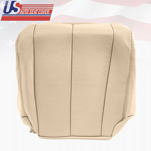 2003-2007 Passenger Bottom Leather Seat Cover Light Tan Fit Nissan Murano Sport
