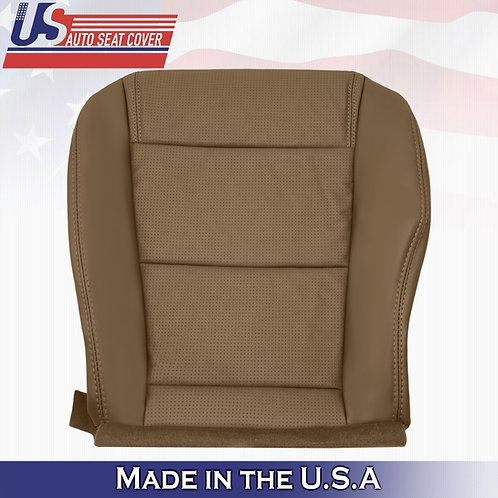 2001-2006 Acura MDX Passenger Bottom Perforated Leather Seat Cover SADDLE TAN