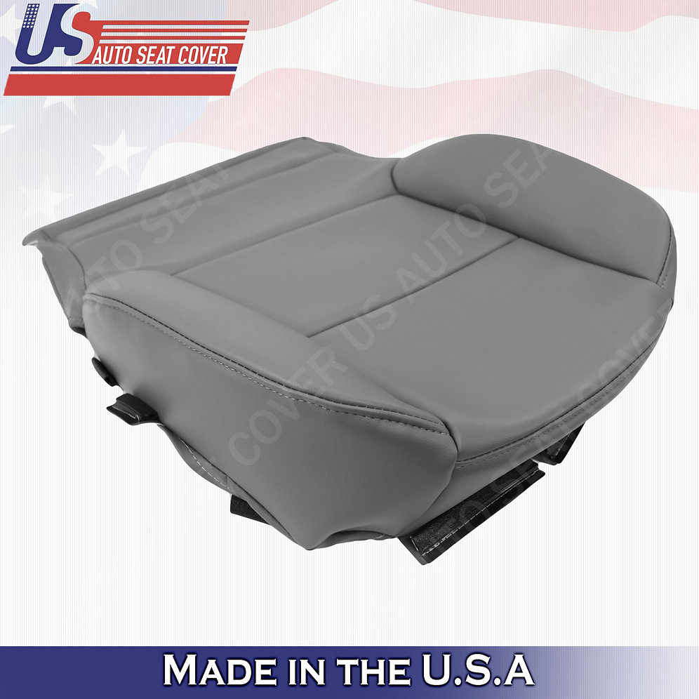 2014 2019 Gmc Sierra Wt Base Driver Side Bottom Vinyl Seat